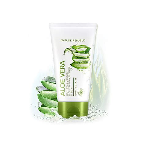 Mamonde Moist Foam 150ml nature republic soothing moisture aloe vera foam