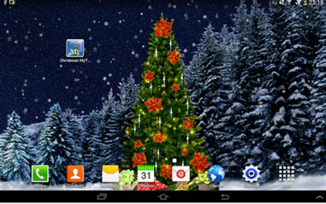christmas live wallpaper app