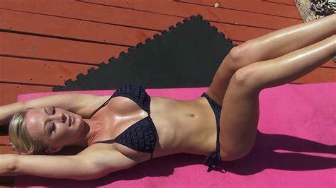 bikini models hot ab exercises youtube