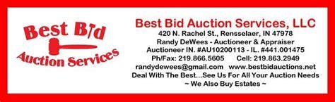 best bid best bid auctions dewees