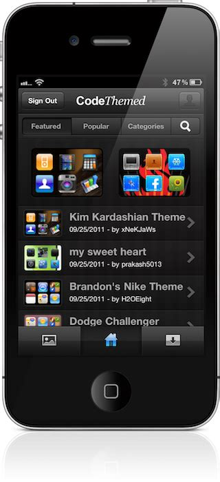 make themes for iphone codethemed easily create custom themes for your ipad