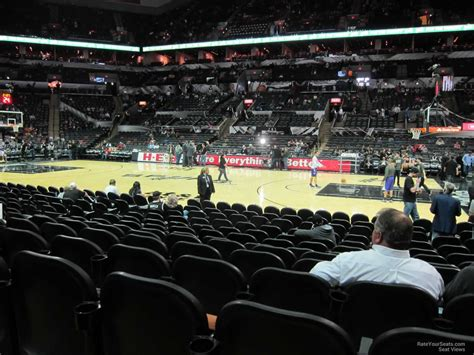 section 20 a at t center section 20 san antonio spurs rateyourseats com
