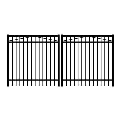 home depot gates 4 metal fence gates metal fencing fencing the home depot