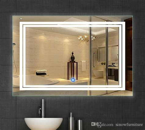 36 inch bathroom mirror 2018 led bathroom mirror 24 inch x 36 inch lighted vanity mirror includes defogger touch