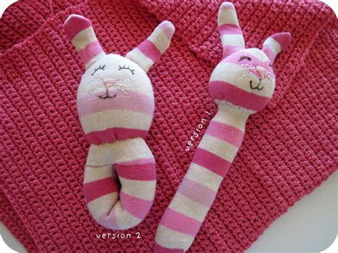 Rattle Socks by Free Baby Projects Sock Rabbit Rattle