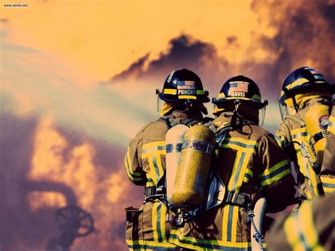 firefighter backgrounds fireman wallpapers wallpaper cave