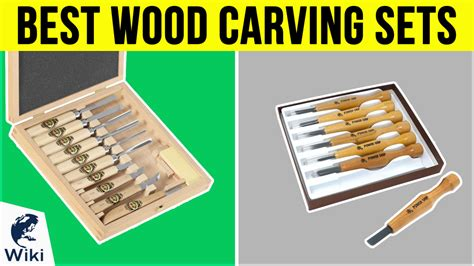 top  wood carving sets   video review