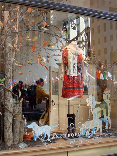window display ideas beautiful window displays anthropologie quot fall forward