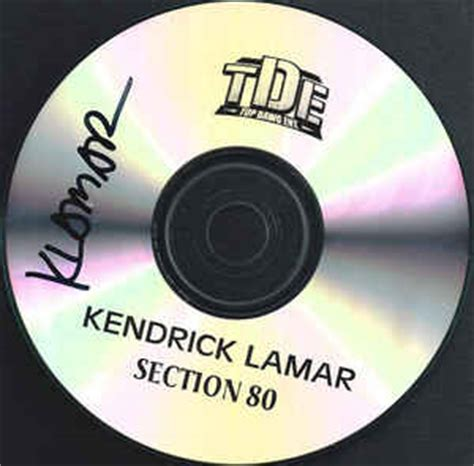 section 80 full kendrick lamar section 80 cdr album at discogs