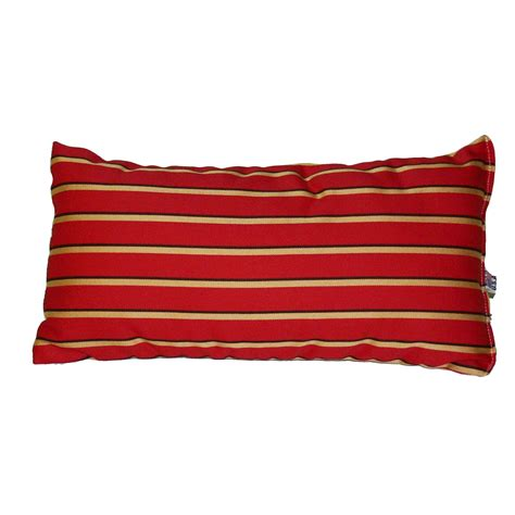 Outdoor Throw Pillows Clearance by Shop Harwood Crimson Sunbrella Outdoor Throw Pillow