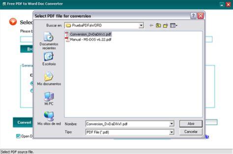 pdf con imagenes a word online free pdf to word doc converter descargar