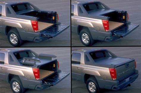 chevy avalanche bed cover 2002 chevrolet avalanche bed 184718 photo 89 trucktrend com