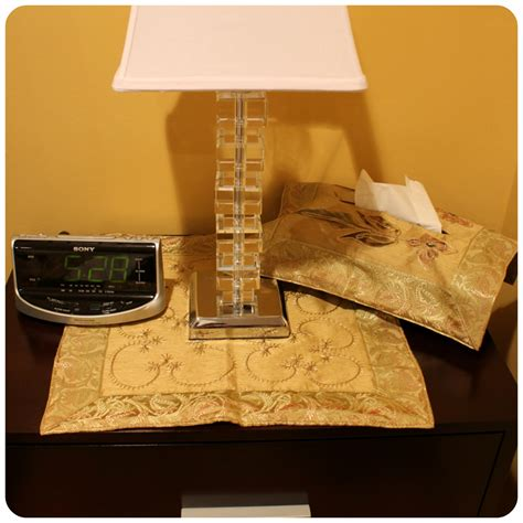 Nightstand Covers how to decorate a nightstand and give it an look