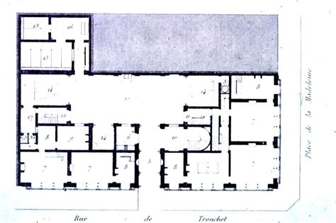 paris apartment floor plans notes on lecture 9