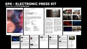 digital press kit template free epk third year