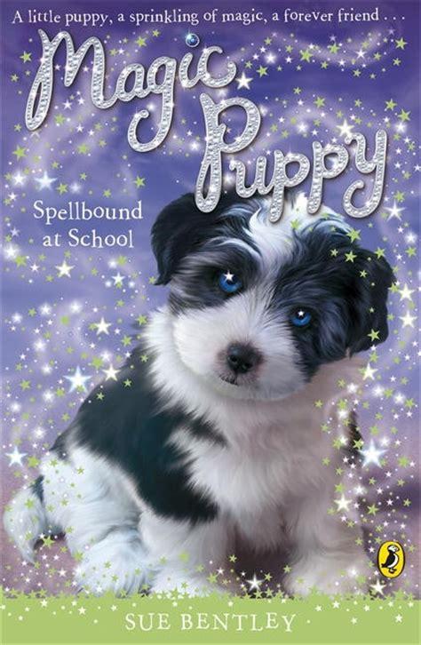 magic puppy magic puppy spell bound at school penguin books australia