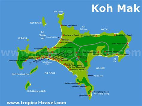 Koh Mak - Ko Maak - online Reiseführer - Inselparadies im ...