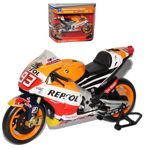 Die Cast Motor Honda Rc 51 die cast marc marquez 1 12 licensed die cast model honda moto gp from new