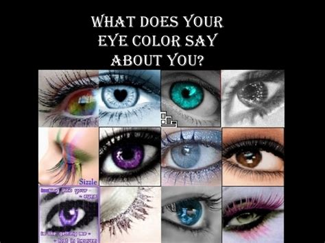 what does your bedroom color say about you what does your eye color say about you