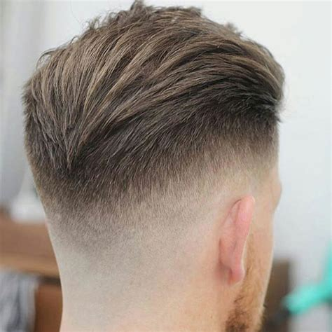 view from back of pompadour hair style drop fade haircut men s haircuts hairstyles 2018