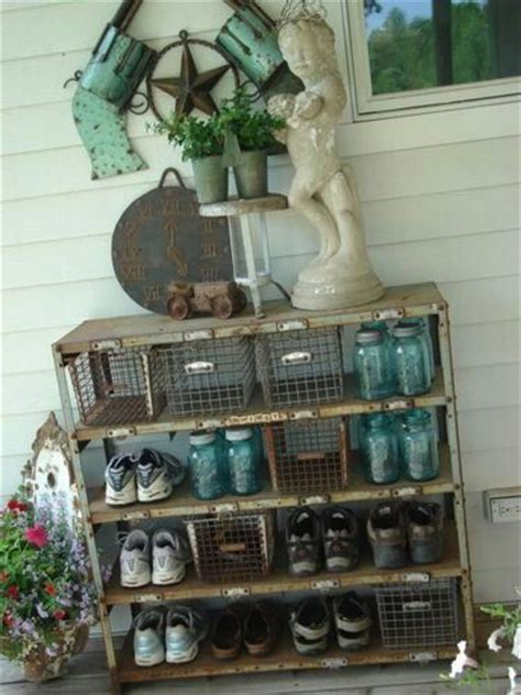 outdoor shoe storage ideas great outdoor vintage storage idea products i