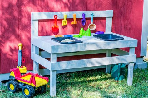 kids play bench diy kids play table hgtv