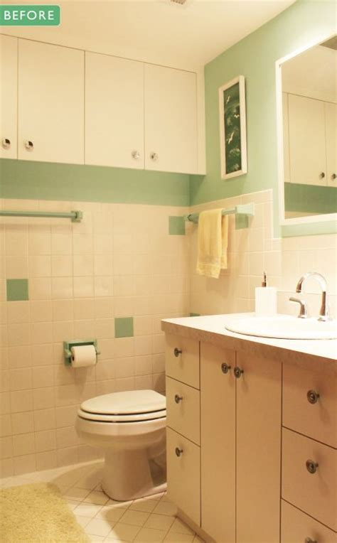 1960 bathroom remodel kate s 1960s green bathroom remodel lite before and