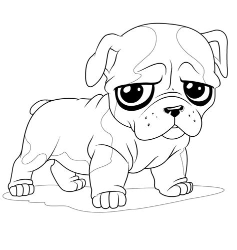coloring pages of baby dogs newborn puppy coloring pages to print cute coloring