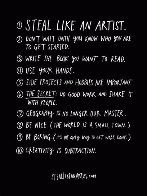 steal like an artist astropixie steal like an artist