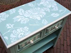 25 best ideas about stencil table top on