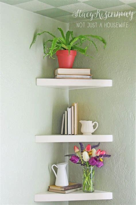 best 25 floating corner shelves ideas on