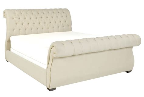 upholstered king beds kensington ii california king upholstered sleigh bed