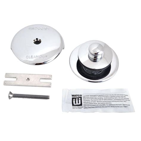 bathtub overflow stopper watco nufit lift and turn bathtub stopper with one hole