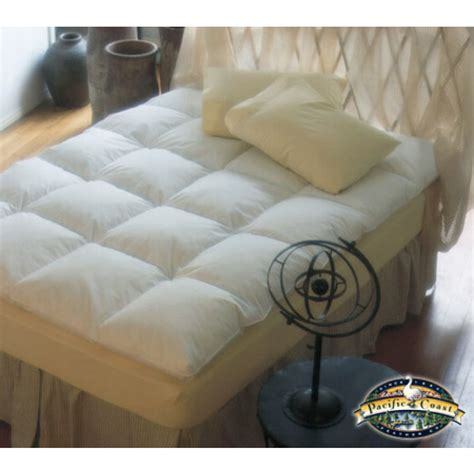 pacific coast feather bed pacific coast luxe loft baffle box feather bed twin