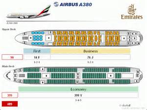 cabin plan a380 air minor50uau