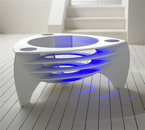 Futuristic Coffee Table Modern Coffee Table Architecture Interior Design