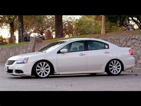 mitsubishi galant modified modified 2009 mitsubishi galant one take