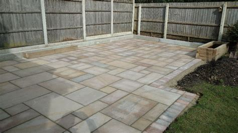 Patio Sandstone by Indian Sandstone Patio In Bournemouth Dorset Msc Landscapes