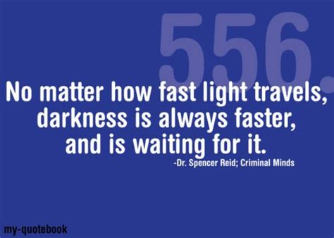 light travels fastest in no matter how fast light travels darkness is always