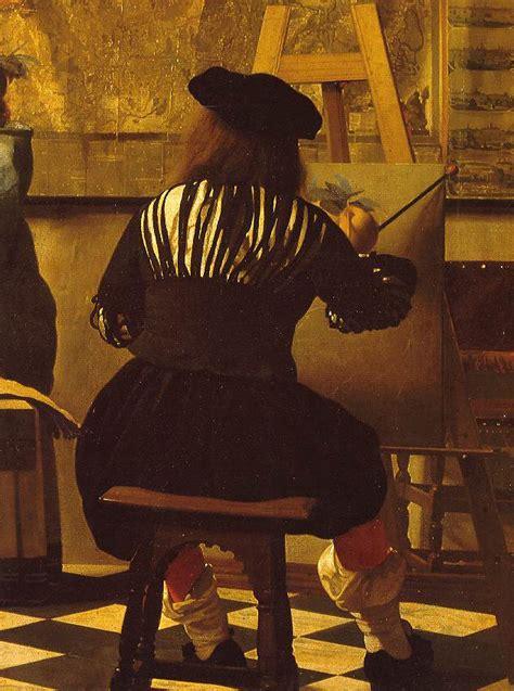 painting artist vermeer detail from the of painting artist