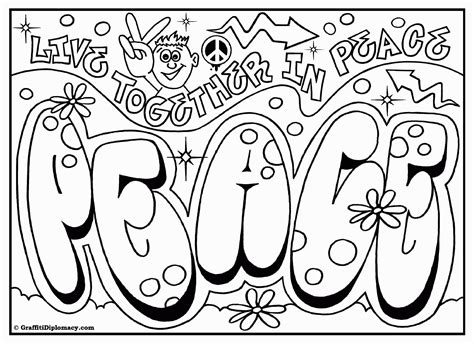awesome graffiti coloring pages cool graffiti coloring pages coloring home
