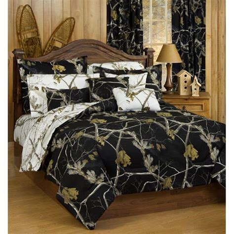 black and white tree bedding all purpose black and white comforter sets by real tree
