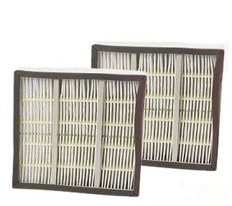 amcor set of 2 hepa replacement filters qvc