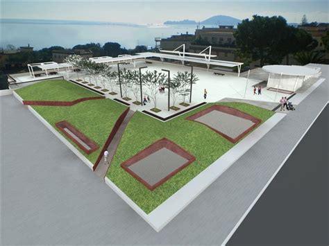 progetto arredo formia iniziati i lavori per la realizzazione di piazza