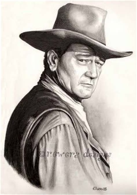 john wayne tattoo by ken karnage tattoonow 384 best images about pencil drawing western on pinterest