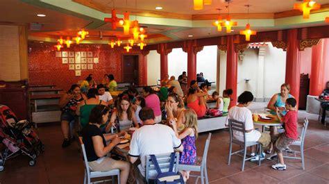 lotus blossom cafe epcot foto gambar