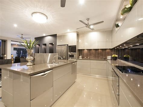 modern open kitchen design modern open plan kitchen design using tiles kitchen