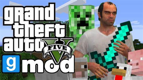 mod gta 5 minecraft download gta 5 minecraft mod funny moments gmod garrys mod