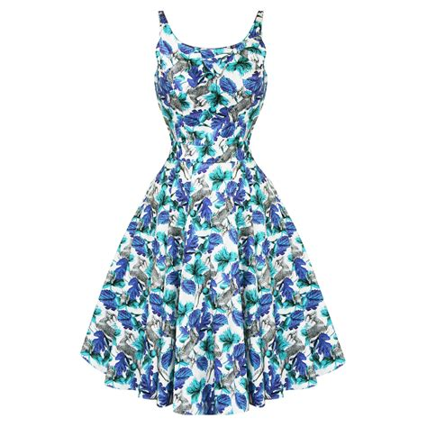 Flower Flare Drezz exclusive design of floral print dresses adworks pk