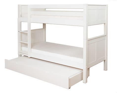 trundle bunk bed classic bunk bed with trundle bed by stompa